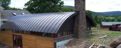 Roof, Standing Seam Metal Roofing, Metal Roofing Systems in Upstate NY
