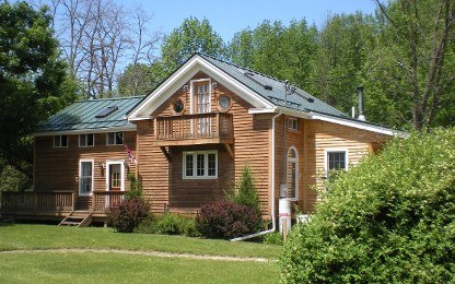 Standing Seam Metal Roofing System in Upstate New York
